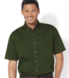 Sierra Pacific 0201 Short Sleeve Cotton Twill Shirt
