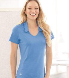 Adidas Golf Clothing A323 Women's Cotton Blend Sport Shirt
