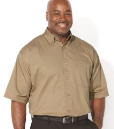 Sierra Pacific 6201 Short Sleeve Cotton Twill Shirt Tall Sizes