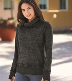 J America 8930 Vintage Zen Fleece Women's Cowl Neck Sweatshirt