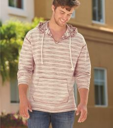 J America 8692 Baja French Terry Hooded Pullover
