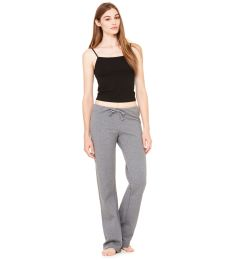 BELLA 7017 Womens Straight Leg Fleece Sweats