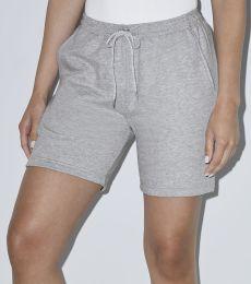 American Apparel RSA54239W Unisex California Fleece Gym Short