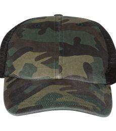 Richardson Hats 111P Washed Printed Trucker Cap