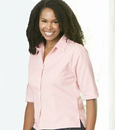 Sierra Pacific 5207 Ladies' Half Sleeve Cotton Twill Shirt