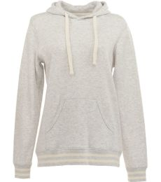 J America 8651 Relay Women's Hooded Pullover Sweatshirt