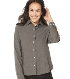 FeatherLite 5233 Women's Long Sleeve Stain Resistant Oxford Shirt