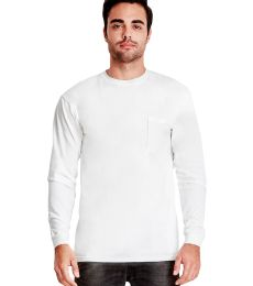184 7451 Inspired Dye Long Sleeve Pocket Crew