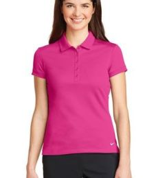 Nike Golf 746100  Ladies Dri-FIT Solid Icon Pique Modern Fit Polo