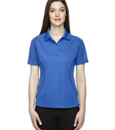 Extreme by Ash City 75107  Extreme Eperformance™ Ladies' Velocity Snag Protection Colorblock Polo with Piping