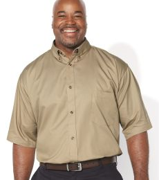 FeatherLite 6281 Short Sleeve Twill Shirt Tall Sizes