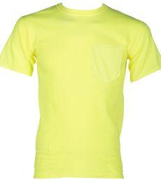 ML Kishigo 9126 100% Cotton T-Shirt with Pocket