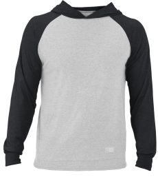 Russel Athletic 64HTTM Jersey Pullover Hooded Raglan