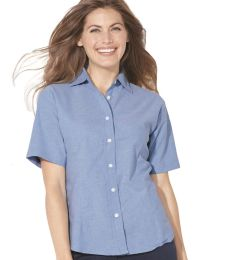 FeatherLite 5231 Women's Short Sleeve Stain Resistant Oxford Shirt