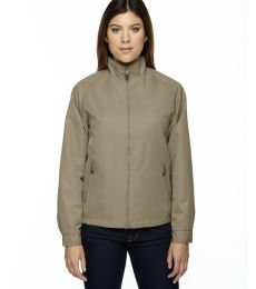North End 78044 Ladies' Mid-Length Micro Twill Jacket