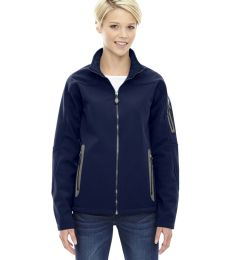 North End 78060 Ladies' Three-Layer Fleece Bonded Soft Shell Technical Jacket
