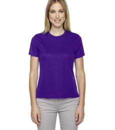 78182 Core 365 Pace  Ladies' Performance Piqué Crew Neck