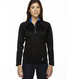 78187 North End Radar Ladies' Half-Zip Performance Long Sleeve Top