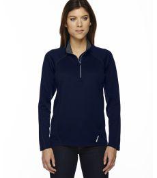 78187 North End Radar Ladies' Half-Zip Performance Long Sleeve Top