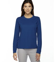 78199 Ash City - Core 365 Ladies' Agility Performance Long-Sleeve Piqué Crew Neck