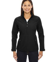 North End 78212 Ladies' Forecast Three-Layer Light Bonded Travel Soft Shell Jacket