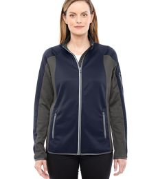North End 78230 Ladies' Motion Interactive Colorblock Performance Fleece Jacket