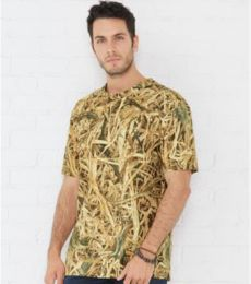Code V 3968 Men's Camouflage Crew Neck T-Shirt