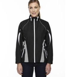 78644 Ash City - North End Sport Red Ladies' Impact Active Lite Colorblock Jacket