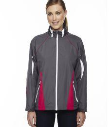 78644 Ash City - North End Sport Red Ladies' Impact Active Lite Colorblock Jacket