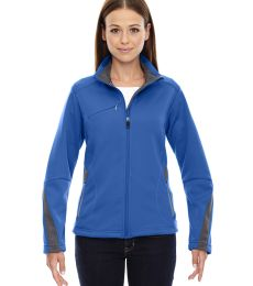 78649 Ash City - North End Sport Red Ladies' Escape Bonded Fleece Jacket
