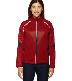 78654 Ash City - North End Sport Red Ladies' Dynamo Three-Layer Lightweight Bonded Performance Hybrid Jacket