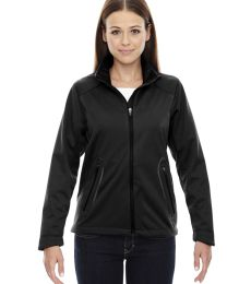 78655 Ash City - North End Sport Red Ladies' Splice Three-Layer Light Bonded Soft Shell Jacket with Laser Welding