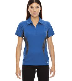 78657 Ash City - North End Sport Red Ladies' Serac UTK cool.logik™ Performance Zippered Polo