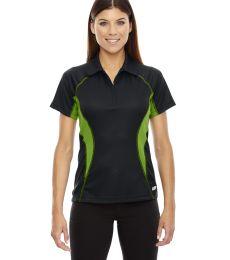 78657 Ash City - North End Sport Red Ladies' Serac UTK cool.logik™ Performance Zippered Polo