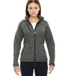 78669 Ash City - North End Sport Red Ladies' Peak Sweater Fleece Jacket