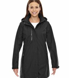 78670 Ash City - North End Sport Blue Ladies' Metropolitan Lightweight City Length Jacket