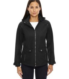 78672 Ash City - North End Sport Blue Ladies' Uptown Three-Layer Light Bonded City Textured Soft Shell Jacket