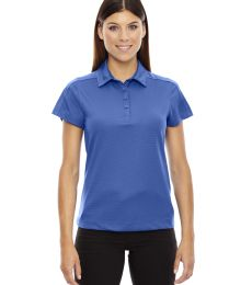 78676 Ash City - North End Sport Red Ladies' Symmetry UTK cool.logik™ Coffee Performance Polo