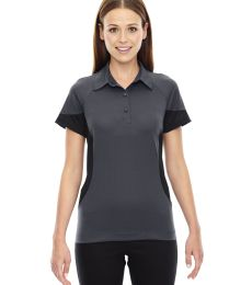78677 Ash City - North End Sport Red Ladies' Refresh UTK cool.logik™ Coffee Performance Mélange Jersey Polo