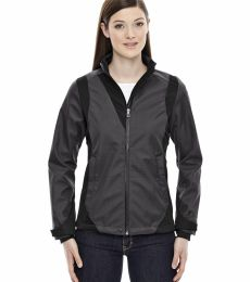 78686 Ash City - North End Sport Blue Ladies' Commute Three-Layer Light Bonded Two-Tone Soft Shell Jacket with Heat Reflect Tech