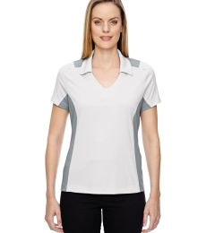 78691 Ash City - North End Sport Red Ladies' Reflex UTK cool.logik™ Performance Embossed Print Polo