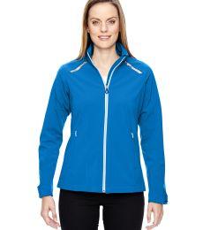 78693 Ash City - North End Sport Red Ladies' Excursion Soft Shell Jacket with Laser Stitch Accents