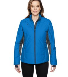 78696 Ash City - North End Sport Red Ladies' Immerge Insulated Hybrid Jacket with Heat Reflect Technology