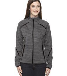 78697 Ash City - North End Sport Red Ladies' Flux Mélange Bonded Fleece Jacket