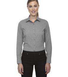 78802 Ash City - North End Sport Blue Ladies' Central Ave Mélange Performance Shirt