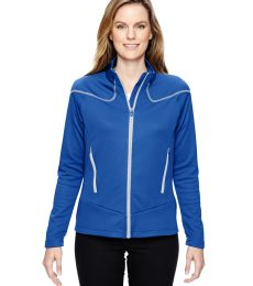 78806 Ash City - North End Sport Red Ladies' Interactive Cadence Two-Tone Brush Back Jacket