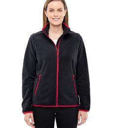78811 Ash City - North End Sport Red Ladies' Vector Interactive Polartec Fleece Jacket