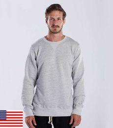 US8000 US Blanks Men's Triblend Pullover