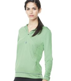 W3002 All Sport Ladies Half Zip Hoodie