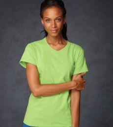 652 Anvil Ladies' 5.4 oz. V-Neck T-Shirt